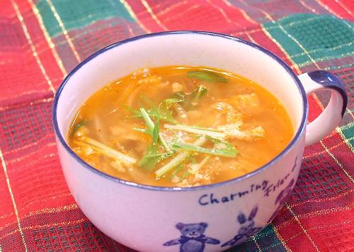 キムチオニオンスープレシピ