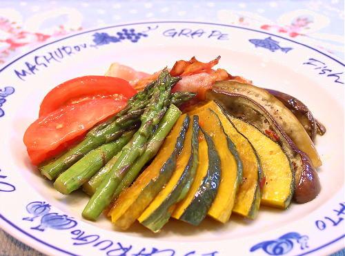 夏野菜のピリ辛マリネレシピ