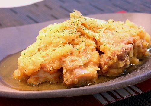 鶏モモ肉のキムチおろし煮レシピ