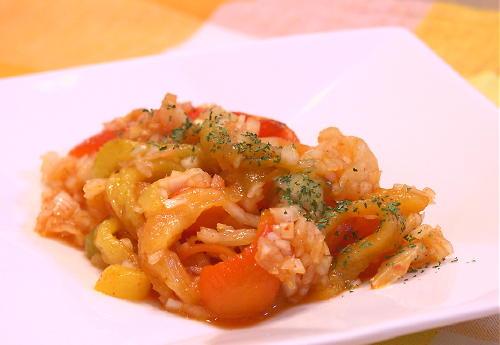 パプリカとキムチのマリネレシピ