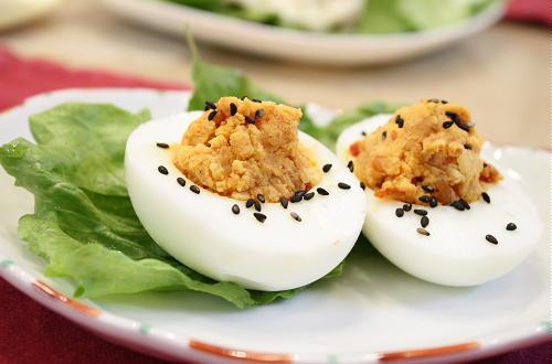 ピリ辛ゆで卵レシピ