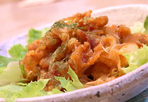新玉ねぎとキムチのポークマリネレシピ