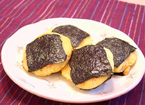 ポテトとキムチのお焼きレシピ
