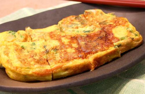 じゃがいもとキムチの卵焼きレシピ
