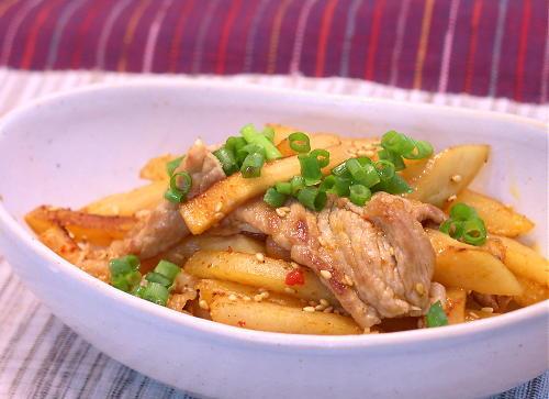ポテトとカクテキの炒め物レシピ