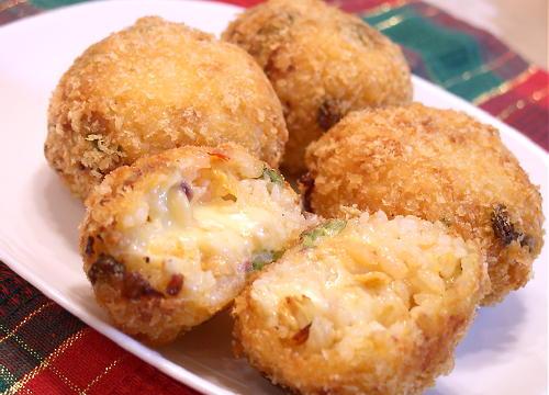 キムチライスコロッケレシピ