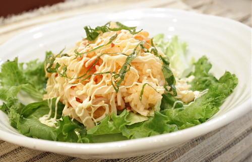 今日のキムチ料理レシピ:サラダキムチご飯