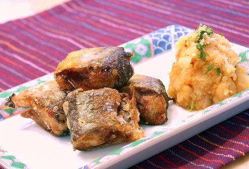 秋刀魚のから揚げレシピ