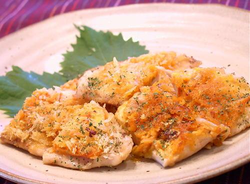 ささみとキムチのパン粉焼きレシピ