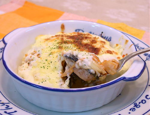鮭キムチグラタンレシピ