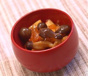 しめじとキムチの甘辛煮レシピ