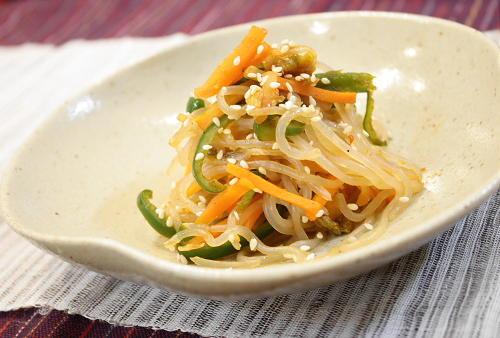 今日のキムチ料理レシピ:しらたきとキムチのきんぴら