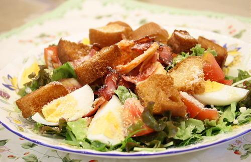 今日のキムチ料理レシピ:キムチシーザーサラダ