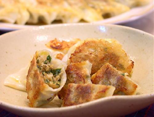 キムチ餃子レシピ