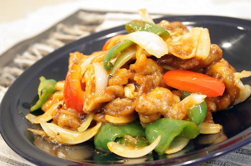 今日のキムチ料理レシピ:キムチ酢豚
