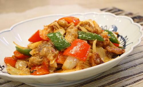 酢豚風豚肉とキムチのごまダレ炒めレシピ
