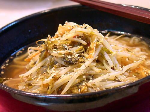 高菜キムチラーメンレシピ