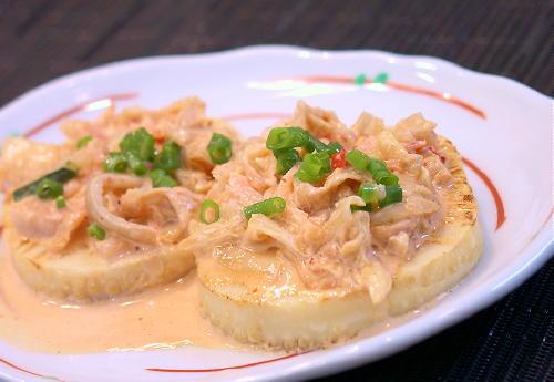 タケノコのキムチソースがけレシピ