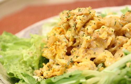 キムチ卵サラダレシピ