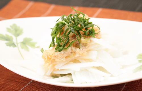 今日のキムチ料理レシピ:長いものキムチたらこソース