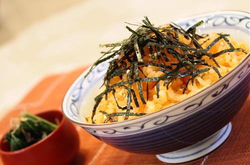 たらこと割干しキムチの混ぜご飯レシピ