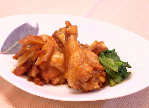 鶏手羽元肉の甘辛煮レシピ