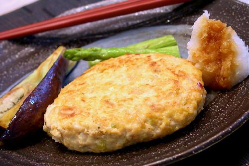 キムチ豆腐ハンバーグレシピ