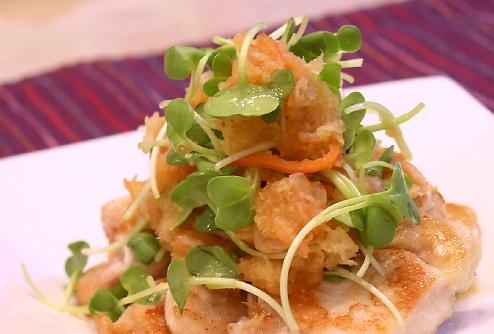 鶏肉のキムチおろしレシピ