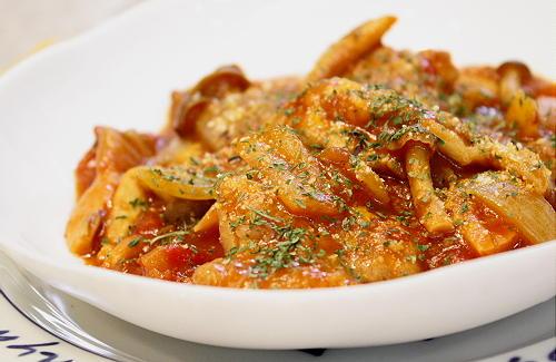 チキンのキムチトマト煮込みレシピ