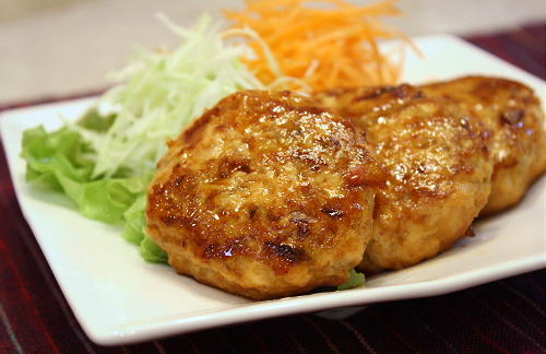 キムチ入り鶏ごぼうつくねレシピ