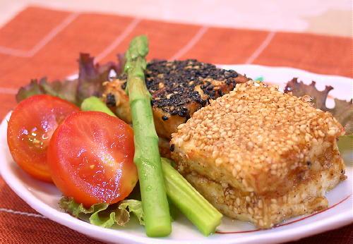 豆腐のキムチはさみ揚げレシピ