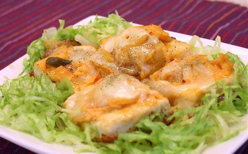 豆腐のキムマヨチーズ焼きレシピ