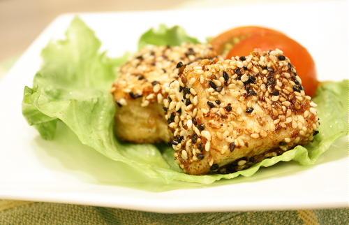 今日のキムチ料理レシピ:豆腐のかわりあげ