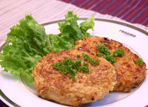 割干しキムチ入り鶏もやしハンバーグレシピ