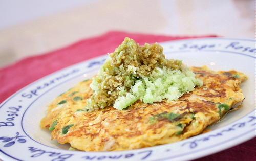 ツナとキムチの卵焼きレシピ
