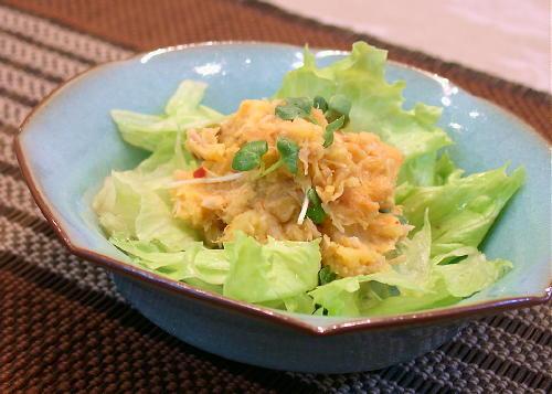 ツナ入りキムチポテトサラダレシピ