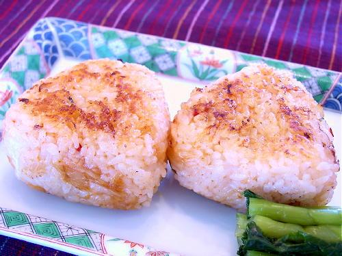 キムチ焼きおにぎりレシピ