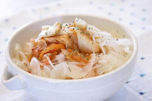 今日のキムチ料理レシピ:洋風キムチ茶漬け