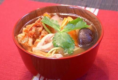 キムチ雑煮レシピ