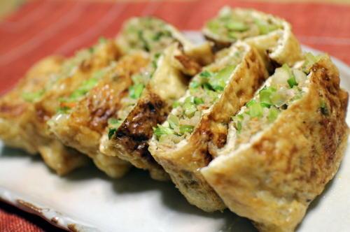 今日のキムチレシピひき肉とキムチの包み焼き: