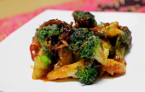 ブロッコリーの甘辛和えレシピ