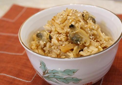今日のキムチ料理レシピ:あさりキムチご飯