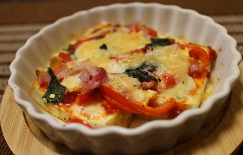 今日のキムチ料理レシピ:厚揚げのピリ辛チーズ焼き