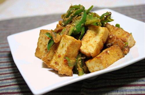 厚揚げのピリ辛味噌炒めレシピ