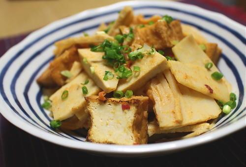 今日のキムチレシピ:キムチ入り竹の子と厚揚げの煮物