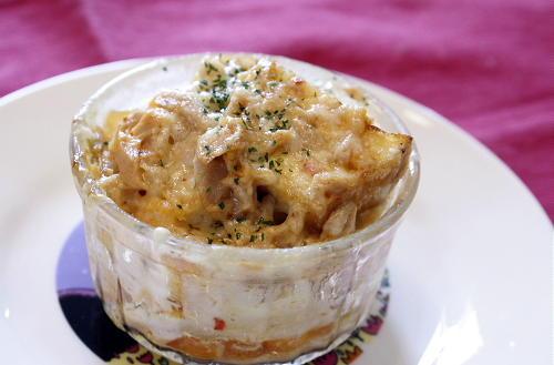 今日のキムチ料理レシピ:厚揚げのキムチツナソース焼き