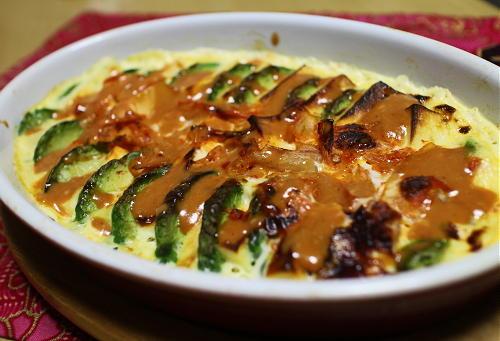 今日のキムチレシピ:高野豆腐とアボカドとキムチのキッシュ風