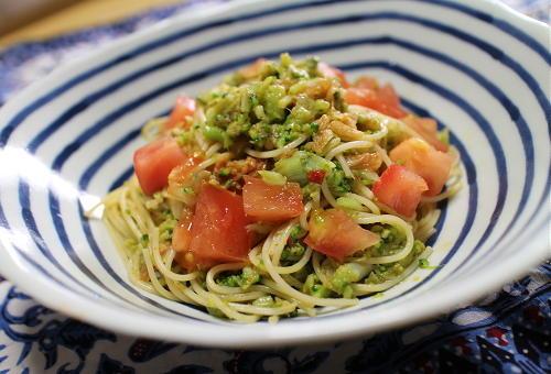 今日のキムチレシピ:ブロッコリーキムチパスタ