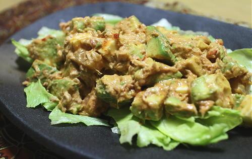 アボカドと大根キムチのツナマヨサラダレシピ