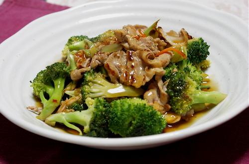 今日のキムチ料理レシピ:ブロッコリーとキムチのとろみあんかけ